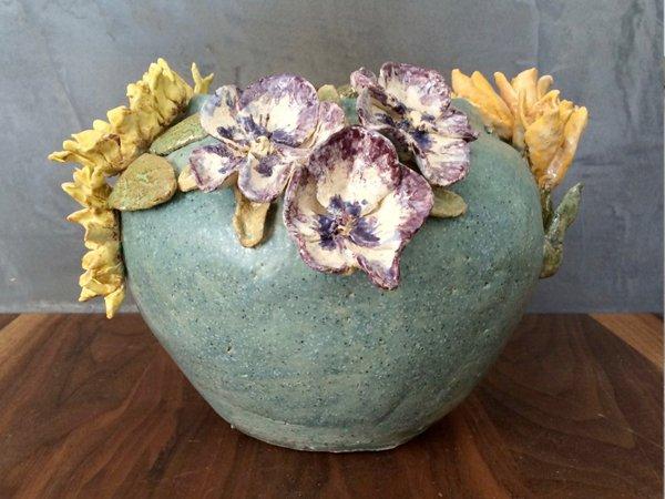 violen, tulpen en rozen