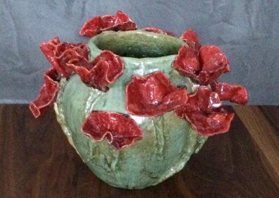 vaas met poppies