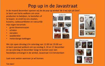 Mijn keramiek in de Javastraat Amsterdam