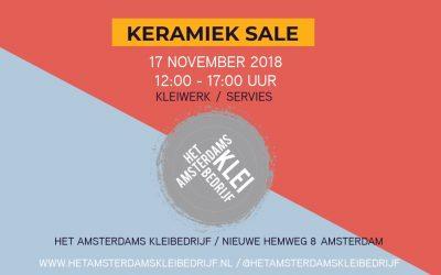 Expositie bij het  Amsterdams Kleibedrijf